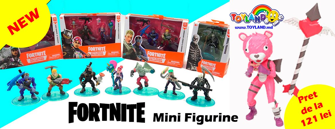 NEW FORTNITE - figurine noi