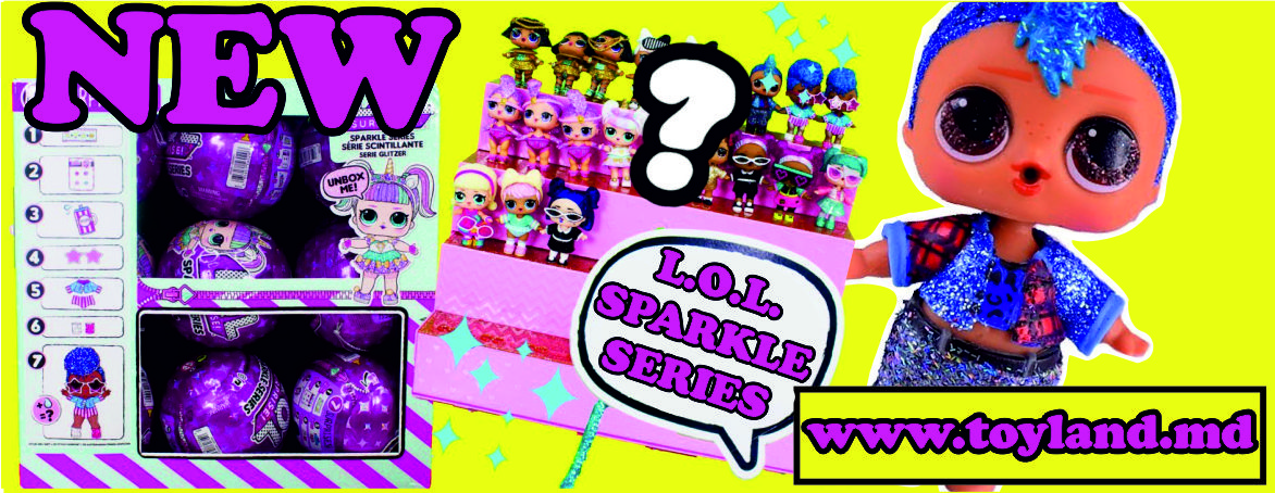 NEW L.O.L. Surprise  - SPARKLE Series
