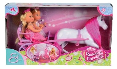 6646 Кукла Симба Evi,,Romantic carriage,,