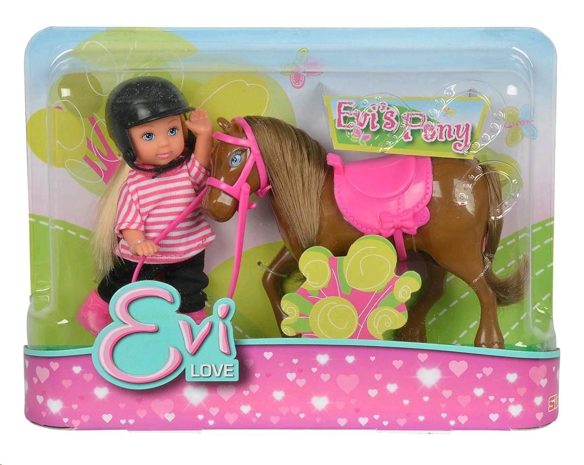 7464 Simba  кукла Evi c Poni