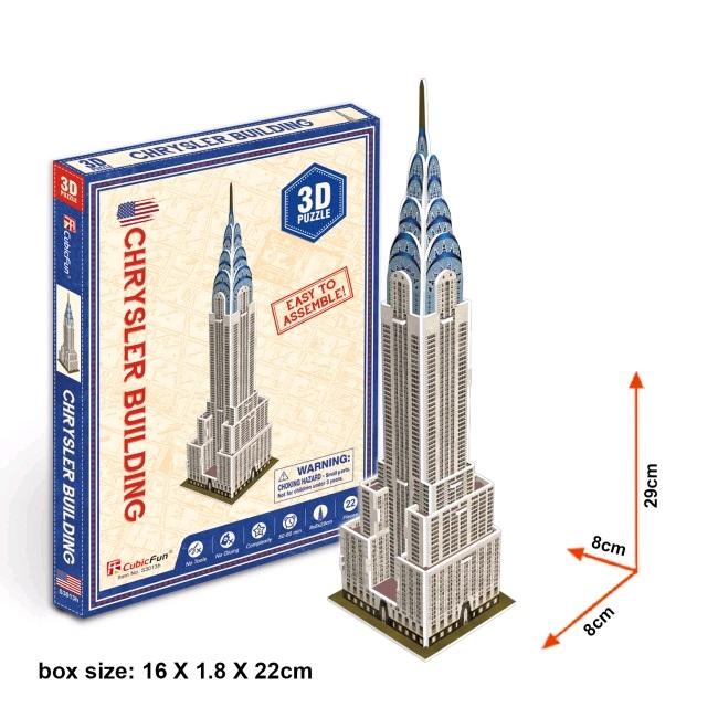 S3013 3D PUZZLE Chrysler Building