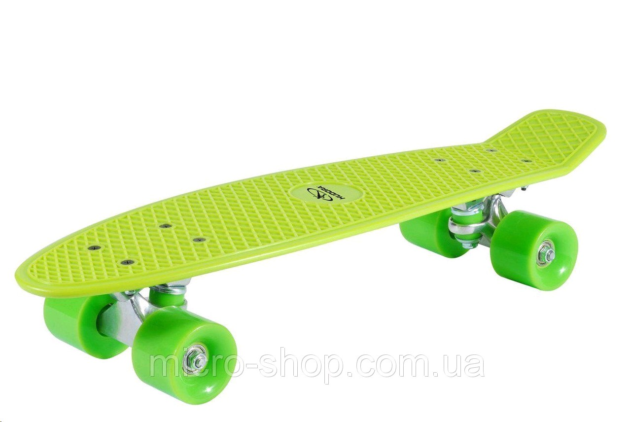 12136 Skateboard Retro,verde