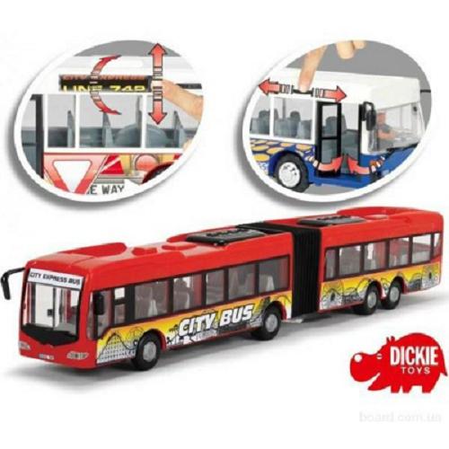 8001 Dickie auto City Express Bus 46 cm