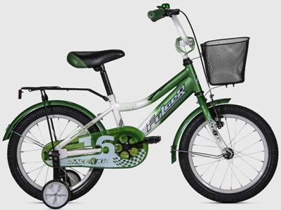 FKS17-S16RK-GW Bicicleta 16,Rase Kid Fulger verde