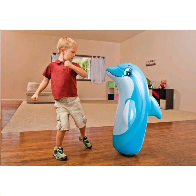 INT 44669 Jucarie 3-D animale gonflabile balansoare