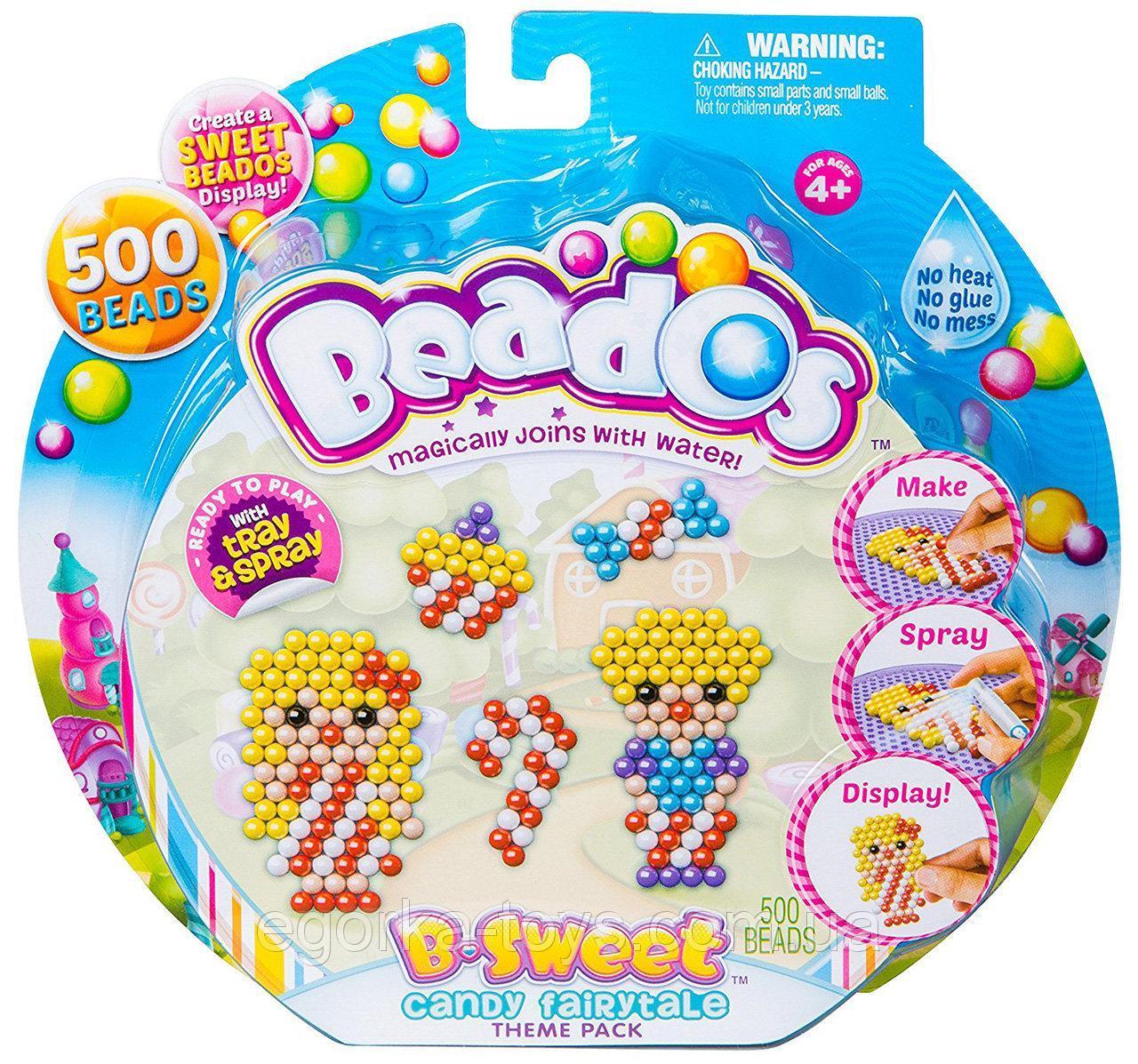 """10771 Set de creatie Beados """"Dulciuri""""(500 mergele,spray,accesorii)"""