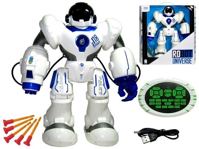 02853 Super robot R/C Police 43*39*15cm
