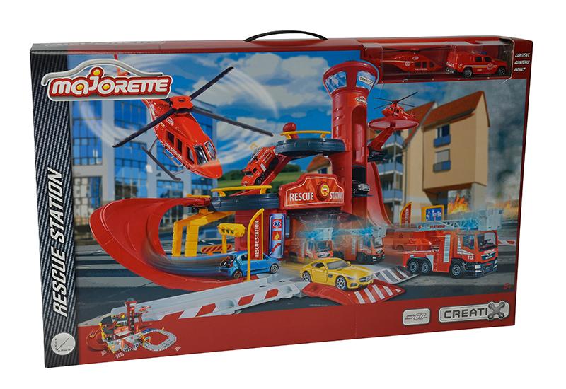 2050015  Majorette Игровой набор Пожарная станция Creatix