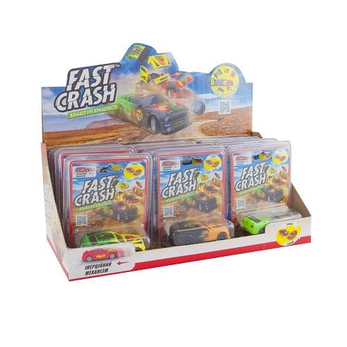 GG00201 Masina FAST CRASH