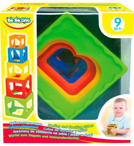 57028 Jucarie cuburi piramida