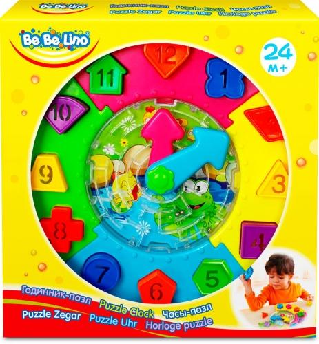 58023 Ceas puzzle cu sorter si labirint