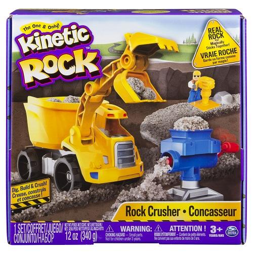 11301 Set de creatie pietris KINETIC ROCK CRUSHER (pietris gri, 340 g. autobasculanta, acces