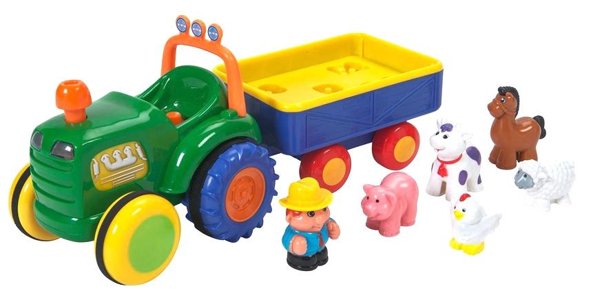 049726 Jucarie muzicala Tractorul fermierului (l.rusa)