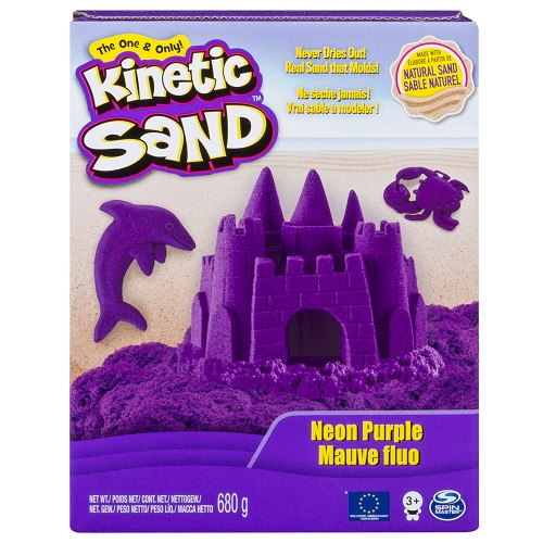 71409P Песок для детского творчества - KINETIC SAND COLOR (фиолетовый, 680 г)