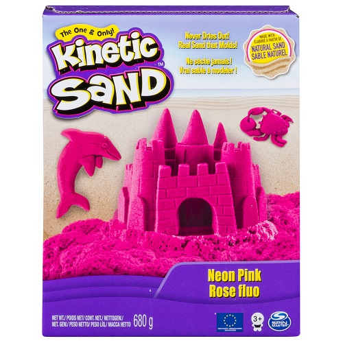 71409Pn Nisip KINETIC SAND COLOR roz 680 g.