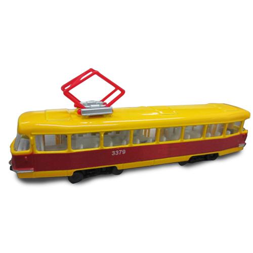 SB-17-16WB Модель - ГОРОДСКОЙ ТРАМВАЙ ОДЕССА (свет, звук)