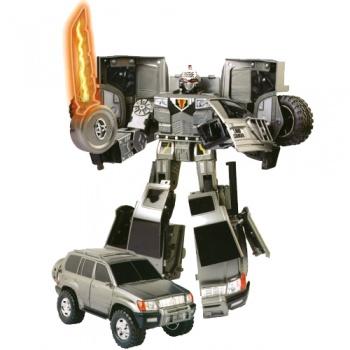 50060 r Робот-трансформер - TOYOTA LAND CRUISER (1:18)