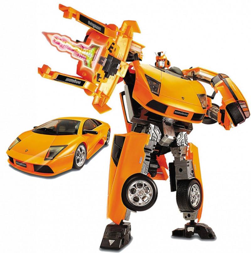 50140 r Робот-трансформер - LAMBORGHINI MURCIELAGO (1:18)