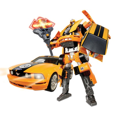 50170R Robot Transformer -MUSTANG FR500C (1:18)