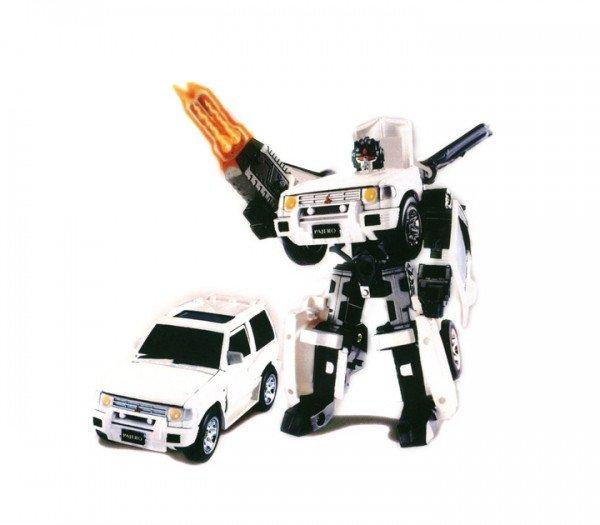 52020 r Robot Transformer - MITSUBISHI PAJERO (1:32)