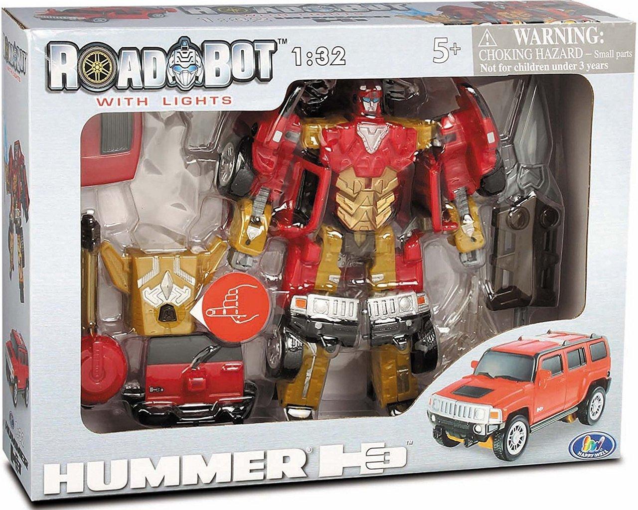 52030 r Робот-трансформер - HUMMER (1:32)t