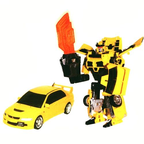 52080 r Робот-трансформер - MITSUBISHI LANCER EVOLUTION IX (1:32)