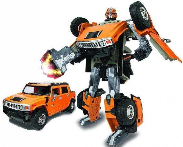 53091R Robot Transformer - HUMMER H2 SUT (1:24)