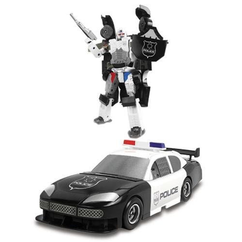80030R Robot Transformer - Masina de Politie