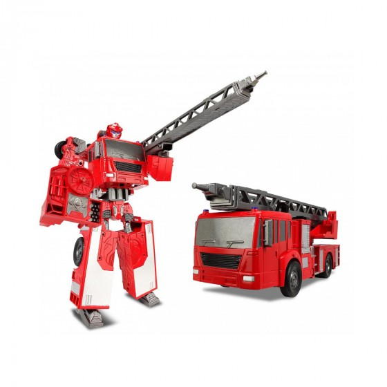 80040R Робот-трансформер - ПОЖАРНАЯ МАШИНА