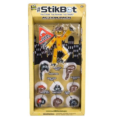 TST620H Figurina STIKBOT S2 cu accesorii peruci