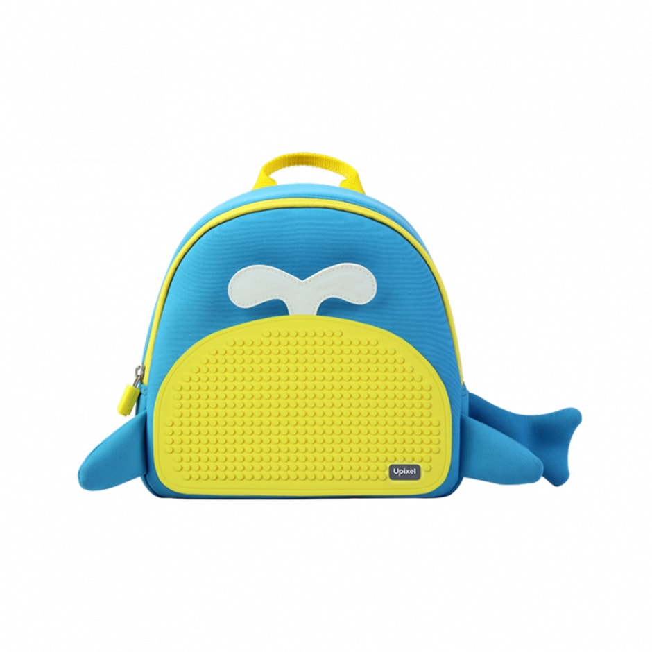 WY-A030O 040507 Рэкзак сине - желтый Upixel Blue Whale