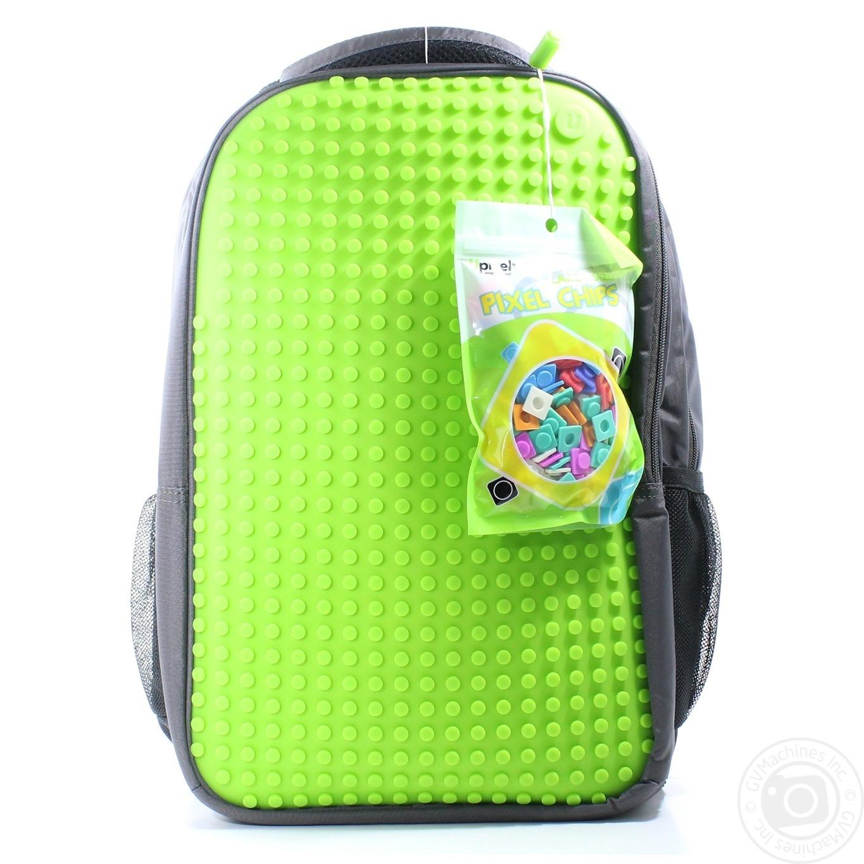WY-A009K Рюкзак макси зеленый Upixel