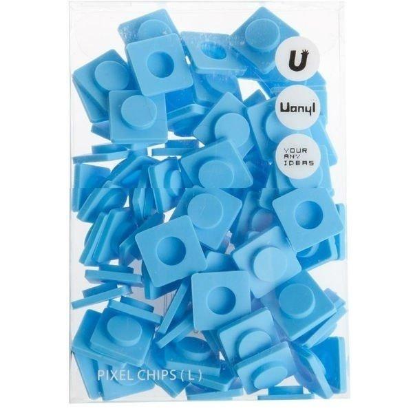 WY-P001O Резервные пиксели большие синие Upixel