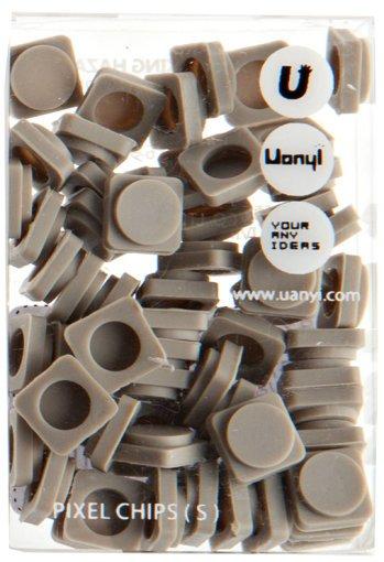 WY-P002S Резервные пиксели маленькие серые Upixel