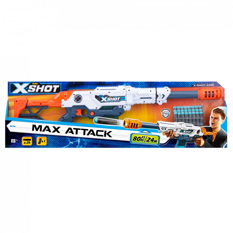 3694 Blaster Large Max Attack (10 cartuse) X-Shot