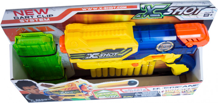 3693 Blaster Small Hurricane(12 cartuse) X-Shot