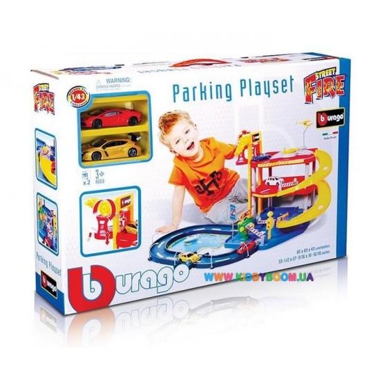 18-30025 Детская площадка Парковка  (3 уровня, 2 машины 1:43)