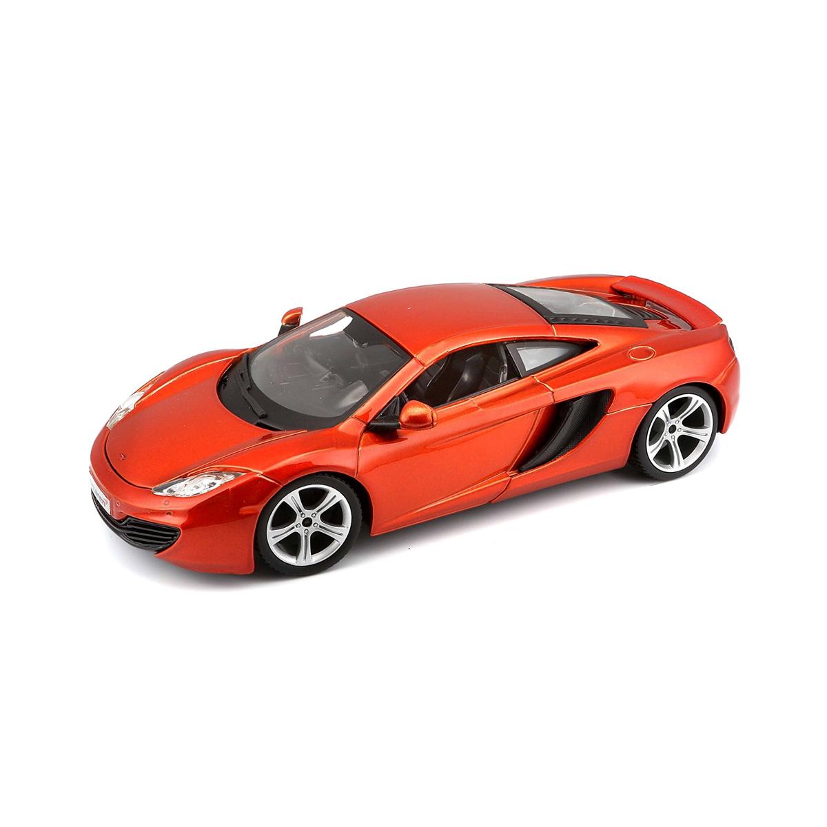 18-21074 Модельный автомобиль MCLAREN MP4-12C (металлический оранжевый, металлический желтый, 1:24)
