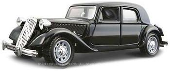 18-22017  Masina model CITROEN 15 CV TA (1938) (negru, rosu-negru, 1:24)