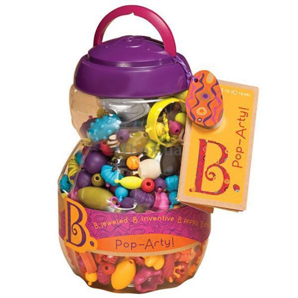 BX1043Z Set pentru confectionarea bijuteriilor - POP ART (500 articole, in tub)