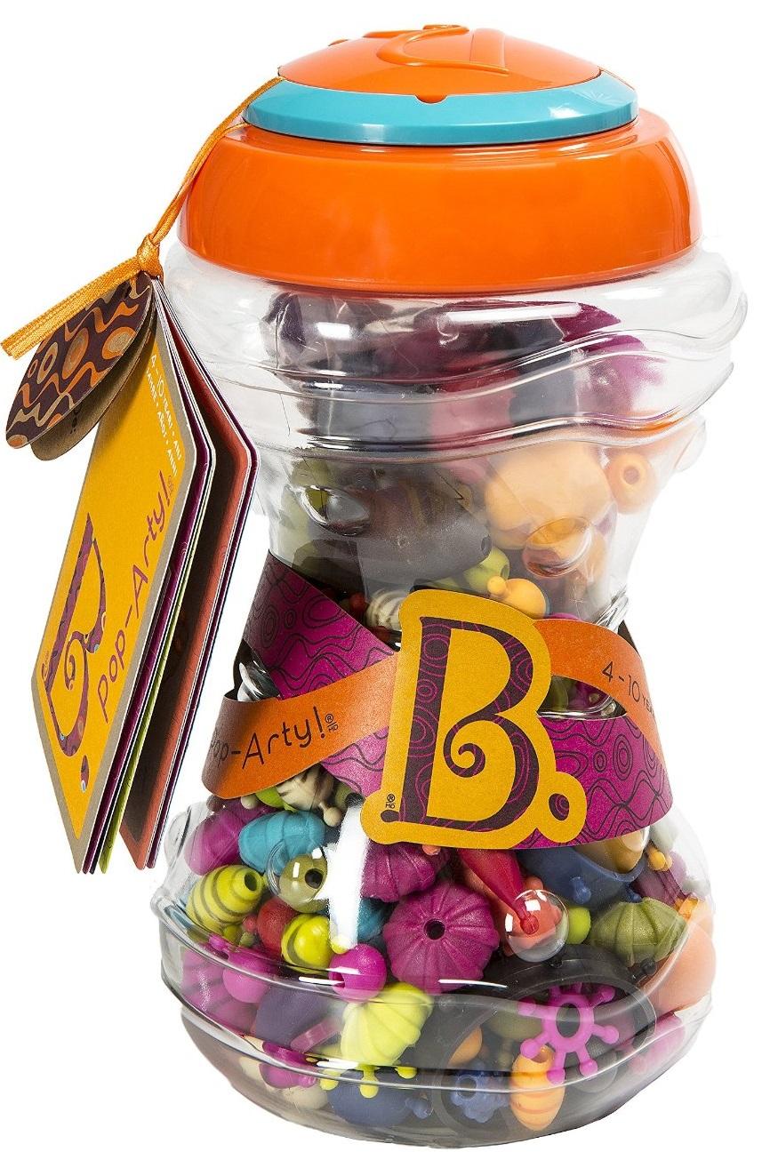 BX1254Z Set pentru confectionarea bijuteriilor - POP ART (300 articole, in tub)