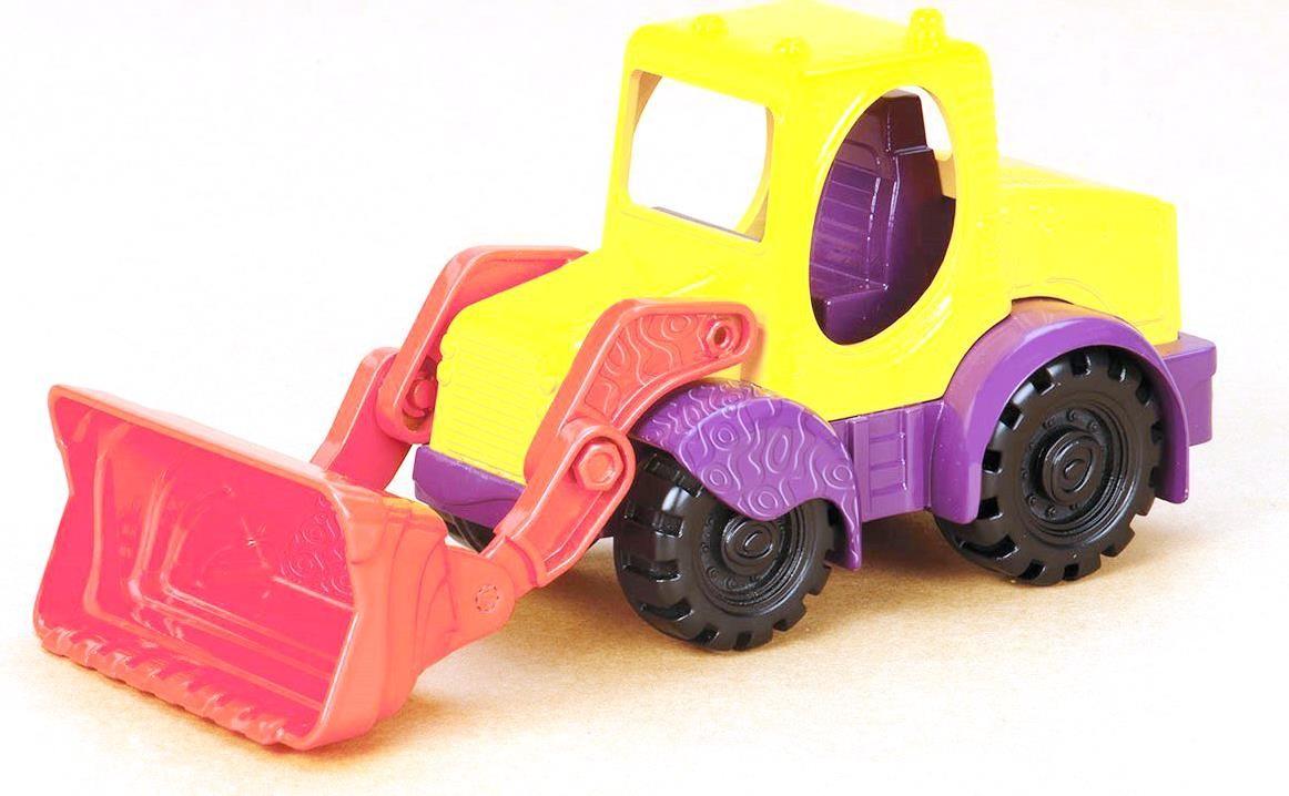 BX1420Z Игрушка для игры с песком Мини-экскаватор (манго-чернослив)