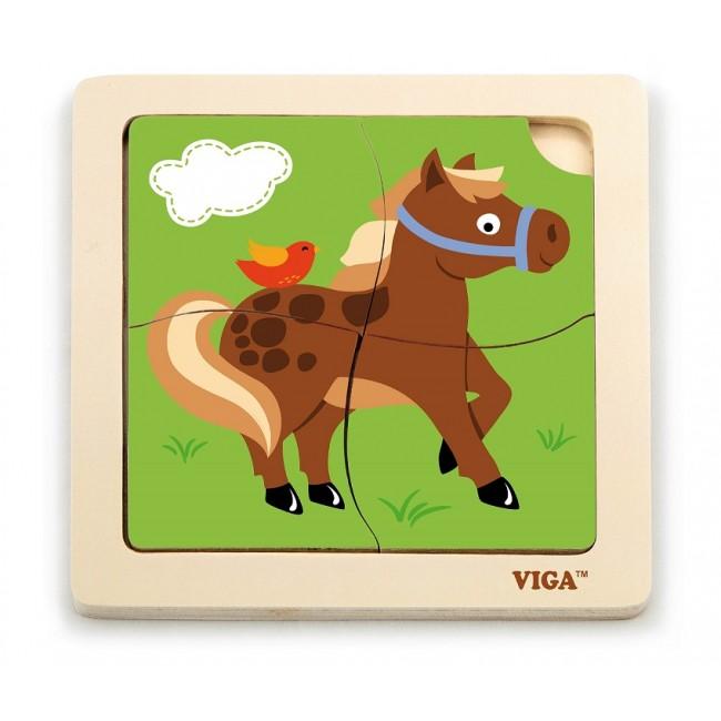 51312 Handy Puzzle- лошадка 24pcs/display