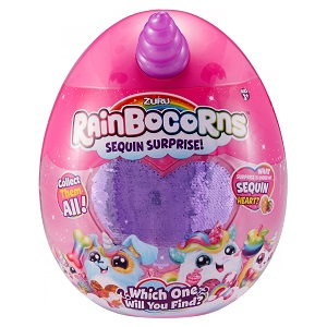"9201EМягкая игрушка-сюрприз ""Rainbocorn-E"""