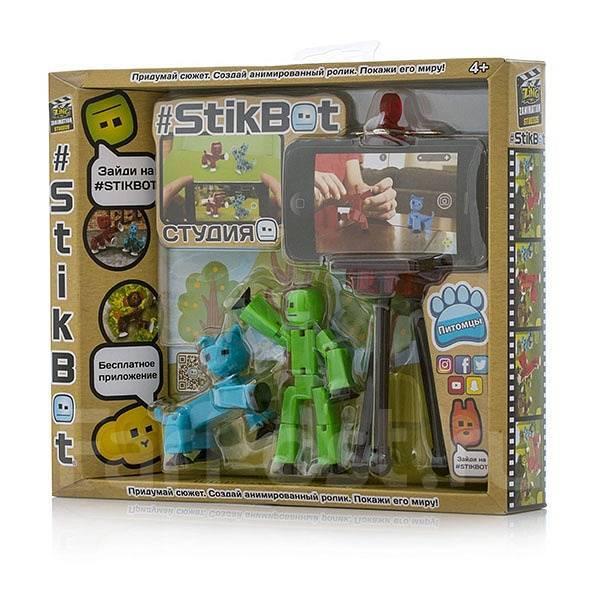 """TST615A Set de joaca  pentru creativitate """"animatie""""STIKBOT-C2 PETS"""