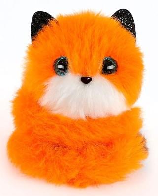 02064-F Мягкая игрушка Pomsies Pomsie Poos S1 Лисичка Фокси на клипсе