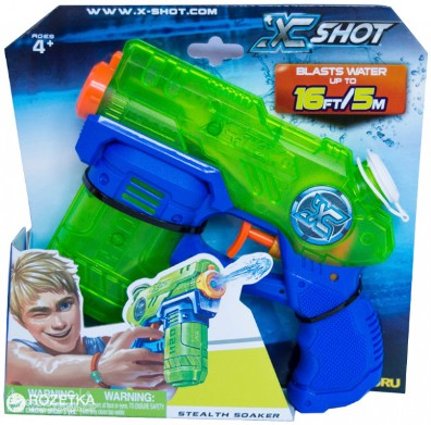 "01226 Blaster de apa"" Small Stealth Soaker""-X Shot"