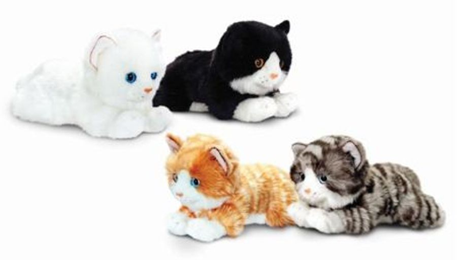 SC1475A  Jucarie moale Laying Cats 25cm- Pisicile (fara cos)
