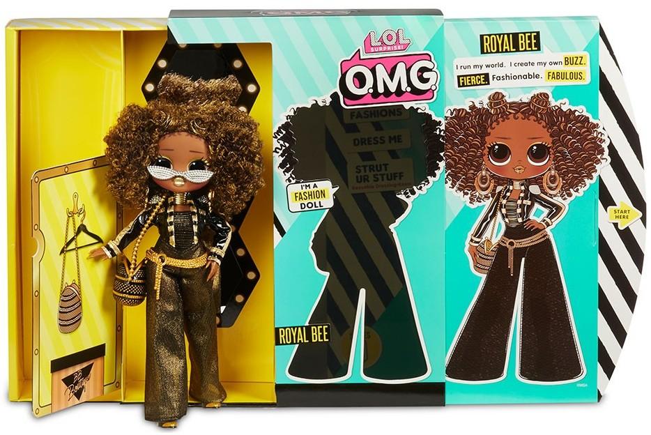 """560555 Игровой набор с куклой L.O.L. SURPRISE! серии O.M.G."""" - КОРОЛЕВА ПЧЕЛКА""""."""