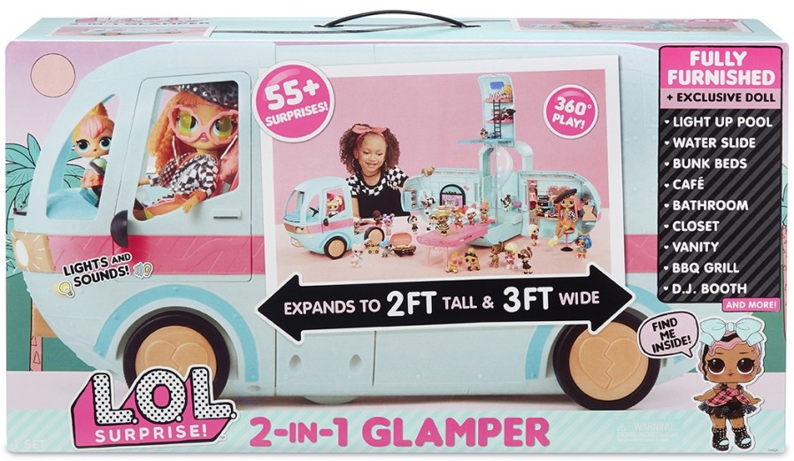 562511 Set LOL SURPRISE GLAMPER STILAT (papusa, accesoria)